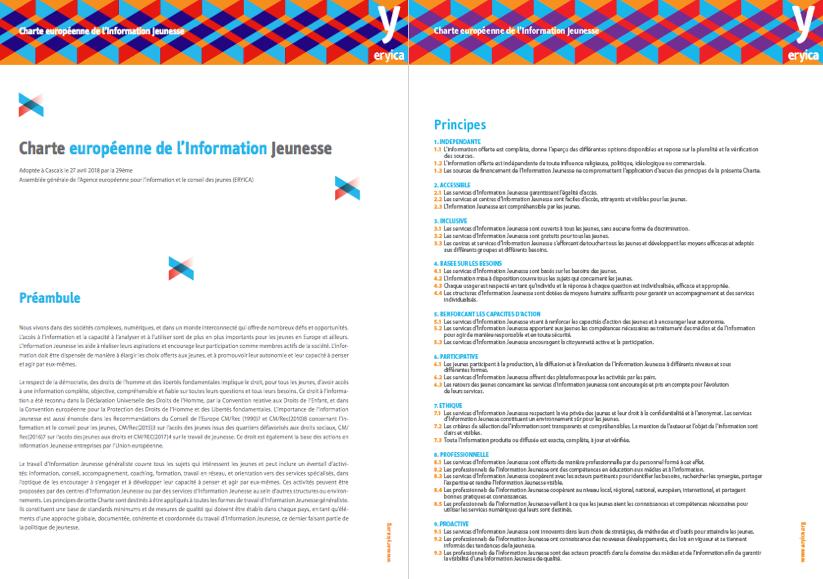 Charte européenne de l'information jeunesse